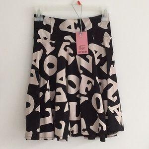 Letterz Skirt